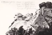 Mount Rushmore History / Historical Photos of Mount Rushmore blackhillsknowledgenetwork.org / by Black Hills Knowledge Network
