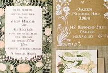 INVITAIONS, STATIONARY, CARDS / by Whitney Knutson