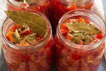 """▣ Preserve Food • Oil • Conserve Ecc. / Conserve • Aceti • Sottoaceti • Salamoie  / by """"Basilico & Patchouli"""""""