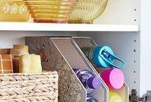 Organization / Creative ways to keep organized