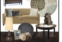Family room design / by Colleen Sicuso