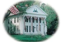 The Inn at 19 North Main Street, Petersham MA / The historic Winterwood at Petersham Inn is a beloved bed & breakfast that is currently being offered for sale by Maureen Harmonay of Coldwell Banker Residential Brokerage.