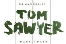 "Tom Sawyer / Notes on vivl.io project, working on ""The Adventures of Tom Sawyer"" / by Panos Papanagiotou"