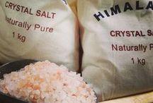 """ஐ Himalayan Pink Salt ஐ / by """"Basilico & Patchouli"""""""