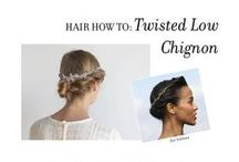 Step-by-Step: Hair How-Tos / Step-by-Step hair how-to guides from the Jennifer Behr Studio.