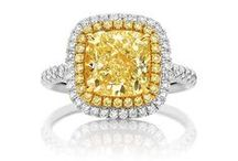 Yellow Diamond Rings / Yellow Diamonds are known to be one of the rarest of all coloured diamonds on the market and are a highly sought after addition to any wedding ring, engagement ring or jewellery collection. A Yellow Diamond is the perfect way to make a statement, oozing boldness and beauty in the one piece. Yellow diamond rings are the next 'big thing' in the jewellery world, combining vintage sophistication and timeless individuality.