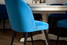 Krzesła do jadalni, do restauracji, kawiarni, do hoteli / Krzesła tapicerowane do jadalni, do restauracji, kawiarni, do hoteli.