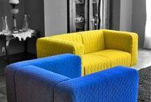 Fotele tapicerowane / Stylowe fotele tapicerowane, w różnych kolorach
