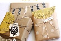 Gift Ideas / Great Gift Ideas & How to Wrap Them