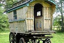 """Gypsy Caravans / Disclaimer: These are just """"PINS"""". I don't claim copyright or ownership of any content on this board. / by Zulema Skye"""