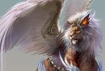 Fantasy / Mythic Creatures, Forgotten Realms, D&D, Lord of the Rings, etc...