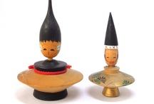kokeshi dolls / by Zulema Skye