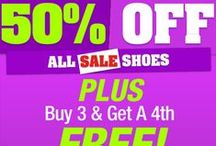 Sale Shoes / http://www.shoespausa.com/istar.asp?a=28 to see what deals we have! #shoes #heels #wedges #flats #sale / by The Shoe Spa