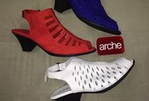 Arche / Designed in Paris and hand crafted in the sparkling wine region of France. Arche is renowned for its breathable and supple water resistant leathers, offered in a variety of textures and colors. Arche features durable all natural Latex outsoles for maximum shock absorption, flexibility and comfort. Combined with chic styling Arche offers exceptional footwear for every walk of life. / by The Shoe Spa