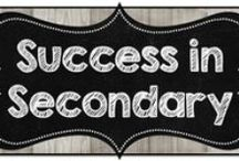 Success in Secondary / A collaborative board for Secondary Teachers of all subjects. / by 4mulaFun
