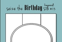 My Seize the Birthday Sketches