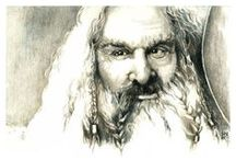 Middle Earth / All things Tolkien. / by Kimberly Kincaid
