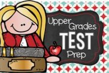 Test Prep for Upper Grades / Getting ready for looming state testing can always be a daunting task. Check out these new and inventive ways to prepare your students to be ready to succeed without stress.
