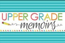Upper Grade Memoirs / A collaborative group of educators featuring moments and ideas from the Upper Grades Classrom.  What is an Upper Grades Classroom? Upper Grades consist of 4th grade and up but typically include 4th-8th grade.  Check us out today at http://uppergradesclassroom.blogspot.com