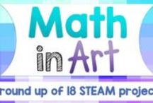 Math In Art / Combining mathematics and art to make for engaging cross-curricular learning.