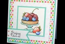 Food / Cards created using Beccy's Place Digital Stamps
