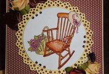 Furniture / Cards created with Beccy's Place digital stamps.