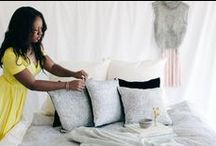 || Letitia Elizabeth BEDROOM || / The Letitia Elizabeth woman's bedroom is her oasis.  Letitia Elizabeth presents an ethereal and feminine collection of premium bedding.  || Organic Sheet Sets | Dreamy Duvet Covers | Eco-Luxe Pillows | Locally Designed and Locally Made || #letitiaelizabeth