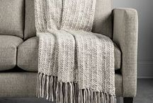 Arhaus cozy home / inviting and cozy home style from Arhaus
