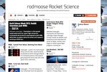 "rodmoose Rocket Science / ""That deep emotional conviction of the presence of a superior reasoning power, which is revealed in the incomprehensible universe, forms my idea of God.""