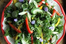 i heart salads / Fresh, local, green, crunchy and satisfying!