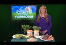 Videos for Growing Naturals / Videos from our YouTube Channel about healthy eating and the benefits of plant based protein powder. http://www.youtube.com/user/growingnaturalsvideo