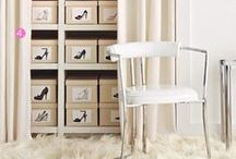 """Dream Closet / """"A place for everything and everything in its place"""" meets beauty!"""