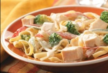 Pastas and Stir frys / Hot or Cold Pasta dishes! / by Theresa Harvie