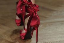 """Wanna Wear Red High Heels / """"Beauty, to me, is about being comfortable in your own skin. That, or a kick-ass red lipstick,daring red dress or red high heels"""