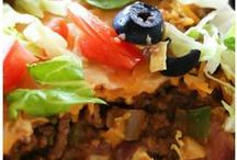 Casseroles and One Dish Meals / Breakfast, Lunch or Dinner Meals...this includes Crockpot meals