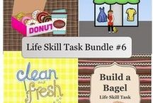 Life Skill Tasks / Tasks to help reinforce important life skills