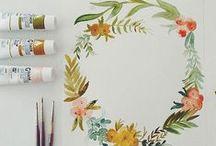 Watercolor Ideas & Tips / by Kelly Kalinkewicz