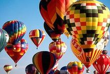 Up, Up, and Away / Beautiful hot air balloons. / by Cindy Bugg