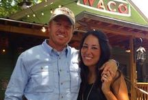 Chip & Joanna Gaines (Fixer Upper) / Fun show, fun couple. / by Cindy Bugg