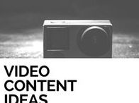 Video Content Ideas / Ideas and tips for your video content