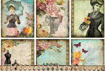 Other EVG Printables / Digital designs for paper crafting.  By Ephemera's Vintage Garden.   / by Debbie-Anne Parent