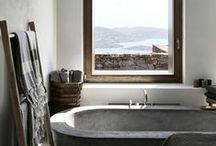 spaces: bathe