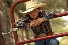 Wrangler Kids / For even the smallest of Wrangler Cowboys and Cowgirls. / by Wrangler Western