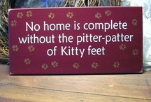 """Kitty Kats / views into the many lives of the domestic cat...or """"purrbox"""" as I call them! / by JoAnn G. Boon Morlan"""