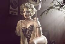 Styled Boudoir Shoot - Vintage Hollywood Glamour