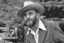 The Photographer & The Artist. Both Were Amazing / Ansel Adams & Norman Rockwell Were Both Amazing. One With A Camera And The Other With A Paintbrush. / by Sandy Czarnetzke