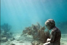 ghost towns in the ocean / by Julie Wimberley