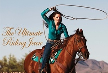 The Ultimate Riding Jean / Whether you ride horses for a passion, for competition, or for a living, Wrangler is proud to bring you our very best Western riding jean. / by Wrangler Western