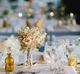 Wedding Details and Decor / Our favorite ideas for table settings, reception and ceremony decorations, big tented celebrations and all the pretty things that will make your wedding unique.