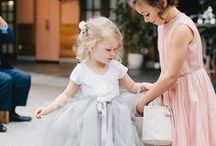 Sweet Flower Girls / Gorgeous shots of the littlest ladies of the wedding party. Includes inspiration for dresses and floral details.